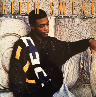 Keith Sweat - Make It Last Forever (LP) (F+/G-)